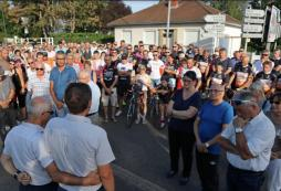 LE BREUIL : Émouvant hommage à Antonin