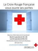 La croix rouge recrute de nouveaux bénévoles pour la rentrée