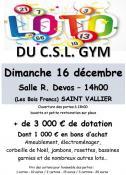 Loto de Noël du CSL Gym (Sortir)