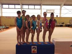 Le CSL gym Saint-Vallier aux championnats départementaux