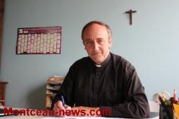 Rencontre – Il est le curé des paroisses Saint Luc et Saint Marc, un homme de foi à la parole qui donne à réfléchir