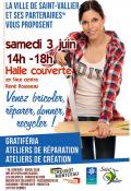 RAPPEL :  Samedi 3 juin 2017, halle couverte (René Rousseau) à Saint-Vallier
