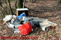 Nouvelle décharge sauvage à Saint-Vallier