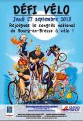 Défi vélo des sapeurs-pompiers de Saône-et-Loire
