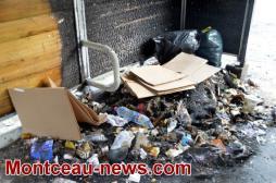 Incendies volontaires et incivilités à Montceau