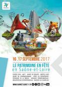 Le patrimoine en fête en Saône-et-Loire les 16 et 17 septembre