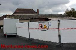 Le local technique incendié sera reconstruit (Pouilloux)