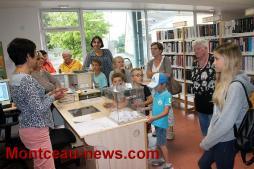 Concours de dessin «Les animaux de tes rêves» à la bibliothèque à Pouilloux