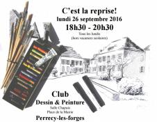 Club Dessin&Peinture (Perrecy-les-Forges)