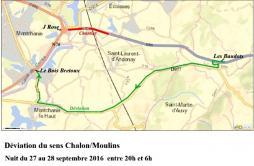 Route Centre Europe Atlantique : mise à 2*2 voies de la RN80 (Saône-et-Loire)