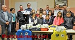 Remise de Label École Féminine de Football (Digoin): Le DFCA récompensé