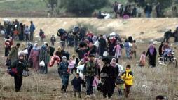Un nouvel exode massif en Syrie