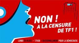 """""""Grand rassemblement devant TF1 contre la dictature des médias !"""" (Politique)"""