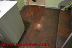 Faits divers -  fuite d'eau au Plessis à Montceau...