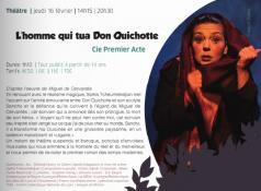 Jeudi 16 février 2017 à l'ECLA à Saint-Vallier (14h15 et 20h30)