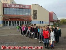 Montceau-les-Mines : Ecole Anatole France en visite