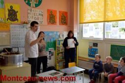 Atelier chocolat à la maternelle Clara Schumann