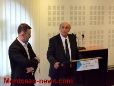 Inauguration des Assises de l'Education à Saint-Vallier