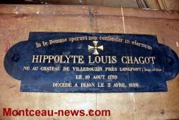 Nouvelle visite de la crypte de la famille Chagot (Montceau)
