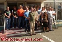 Réunion d'information du personnel Eolane (Montceau - social)