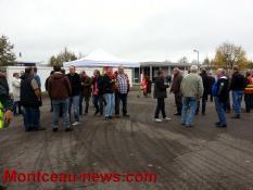 Réactualisé à 17 h Social - Rassemblement devant Eolane Montcau