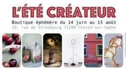 Une boutique éphémère cet été à Chalon: L'Eté Créateur