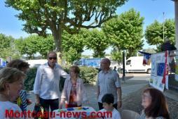 Euro Jeunes invite l'Europe sur le Marché de Montceau