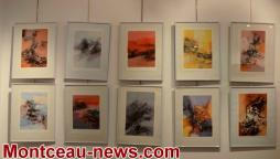 Montceau-les-Mines :  A la galerie la Vignothèque