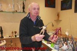 Cours d'arts plastiques aux Ateliers du Jours (Montceau)