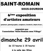 """Association """"Saint Romain mon village"""" de Saint Romain-sous-Gourdon (Sortir)"""