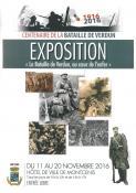 Exposition pour le centenaire de la bataille de Verdun (Montcenis)