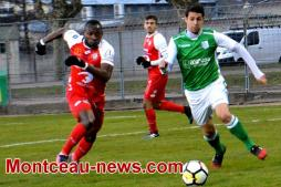 Score final - Foot - Lyon B  :  3 - FCMB : 1
