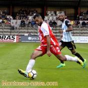 Score final - FC Montceau : 1 - Saint-Priest : 2