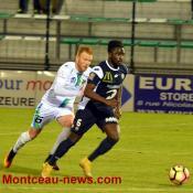 Score final - CFA - FCMB : 2 - Andrezieux : 4