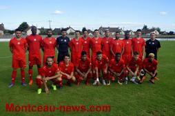 Score final- Andrezieux : 2 -  FCMB : 1