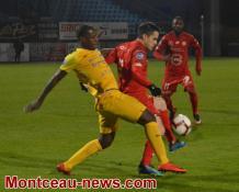 Score final -  Football  - ½ finale de la coupe de Bourgogne Franche Comté : FCG :  2 - FCMB : 0