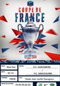 Match de Coupe de France FC Gueugnon / FC Angoulême