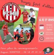 Recrutement chez les filles du FCMB (Foot)