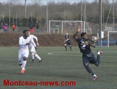 Football : FCMB B /Quetigny : 2 - 3