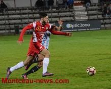 Football (CFA) MDAChasselay  - FCMB à 18h