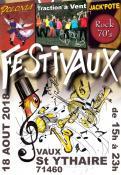 SORTIR : 1er Festivaux au hameau de Vaux (Saint-Ythaire)