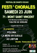"""""""Festi'chorales""""  Mont Saint Vincent (Sortir)"""