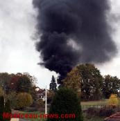 Fumée suspecte à Montceau...