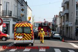 Faits divers – Intervention des sapeurs-pompiers au centre-ville à Montceau-les-Mines