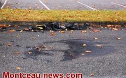 Faits divers : voiture incendiée hier à Sanvignes....