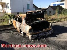Réactualisé - Voitures brûlées, cette nuit  à Saint-Vallier