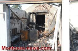 Faits divers - nouvel incendie à la Sablière à Montceau