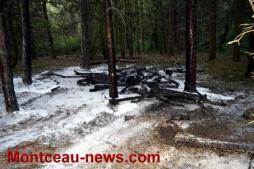 Faits divers - Incendie volontaire au parc Saint Louis...