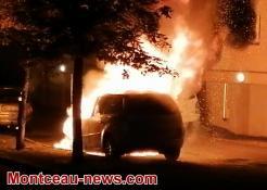 Réactualisé - Ce lundi matin, feu de voiture à Blanzy (Voir la vidéo)