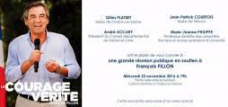 Réunion publique de soutien à François Fillon (politique)